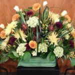 Flowers from the Board of Trustees